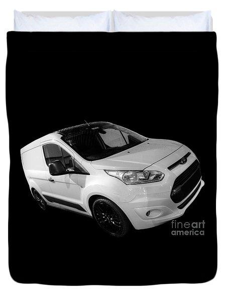 Ford Connect Van Duvet Cover by Vicki Spindler