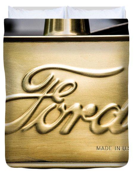 Ford Duvet Cover