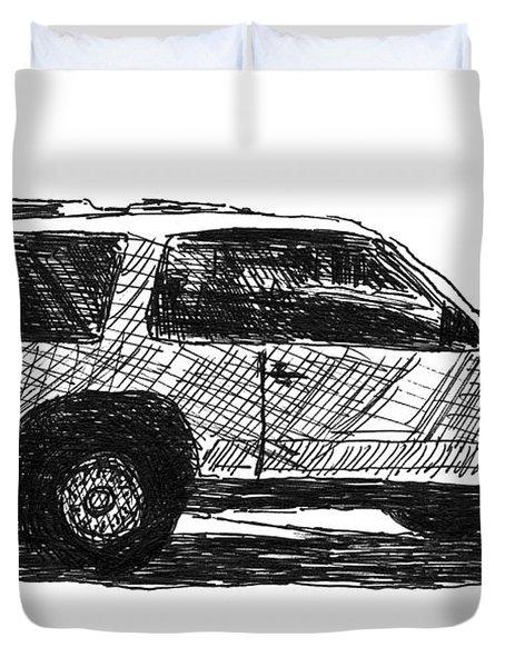 Ford Explorer Duvet Cover