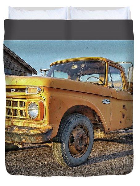 Ford F-150 Dump Truck Duvet Cover