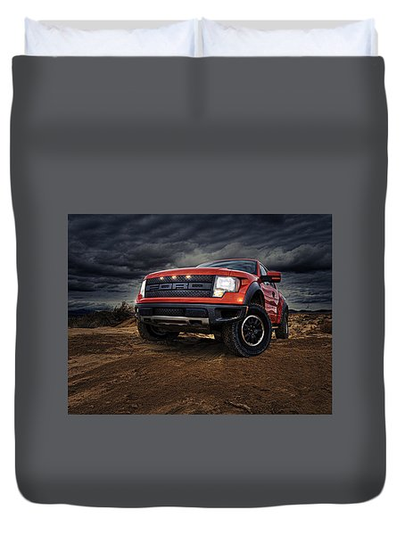 Ford F 150 Raptor  Duvet Cover