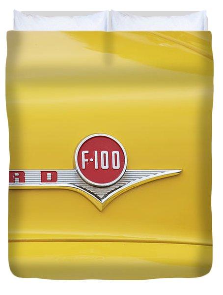 Ford F100 Duvet Cover