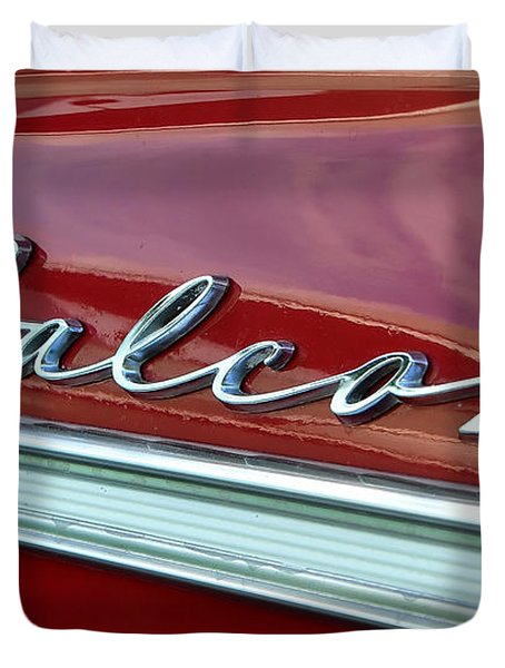 Ford Falcon Duvet Cover by David Lee Thompson