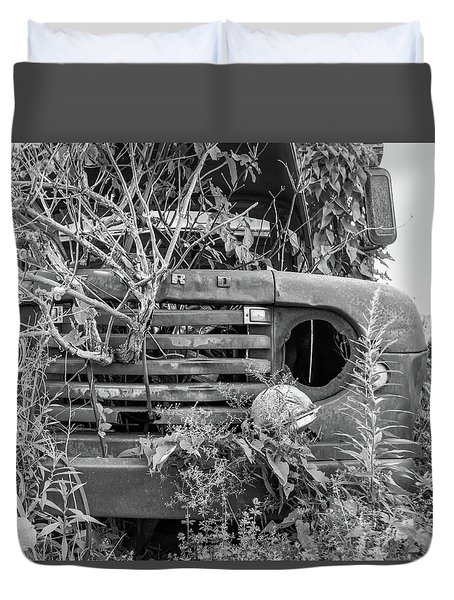 Ford Forgot In Nature Duvet Cover