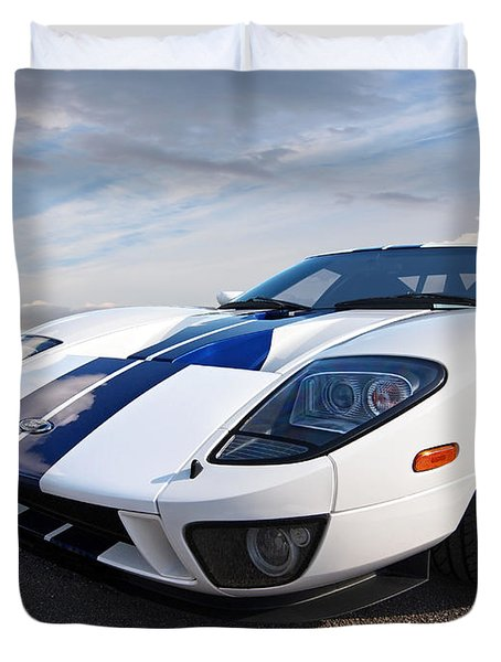 Ford Gt 2005 Duvet Cover