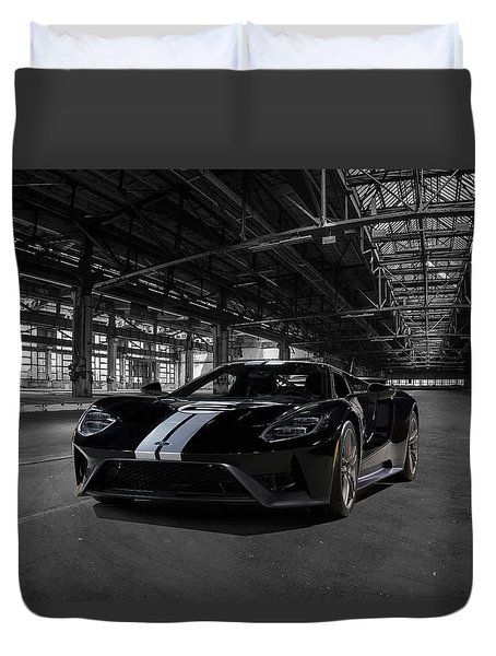 Ford Gt '66 Heritage Edition Duvet Cover