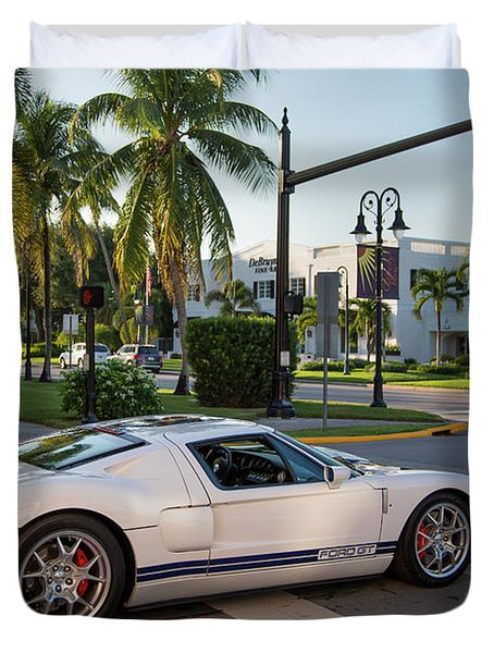 Ford Gt Duvet Cover Ford Gt