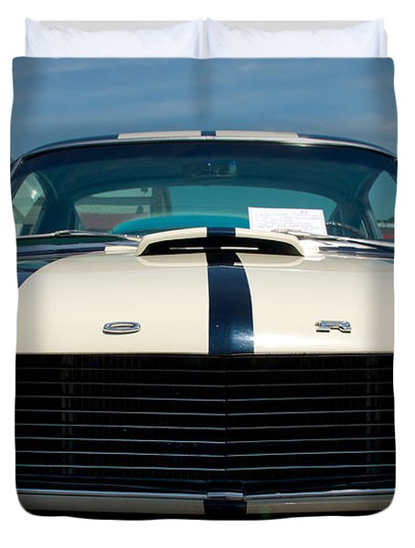Ford Mustang 2 Duvet Cover by Mark Dodd