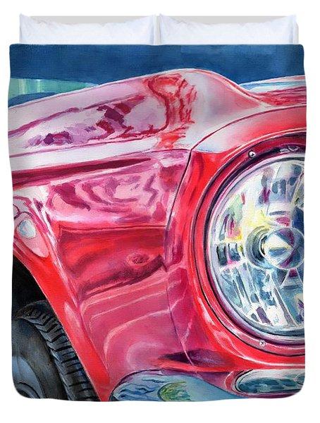 Ford Mustang Duvet Cover