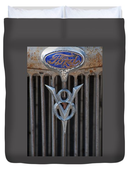 Ford V8 Duvet Cover
