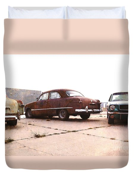 Fords Duvet Cover