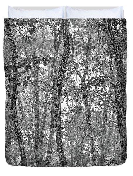 Forest #090 Duvet Cover