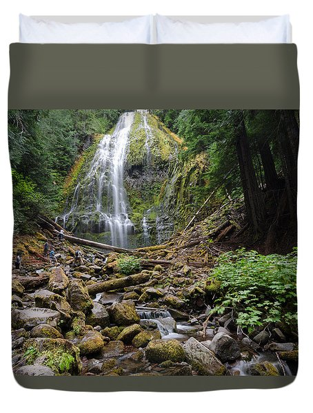 Forest Adventuring Duvet Cover