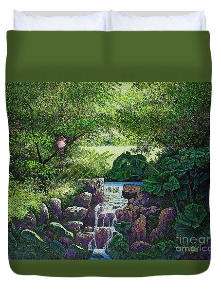 Forest Brook Iv Duvet Cover