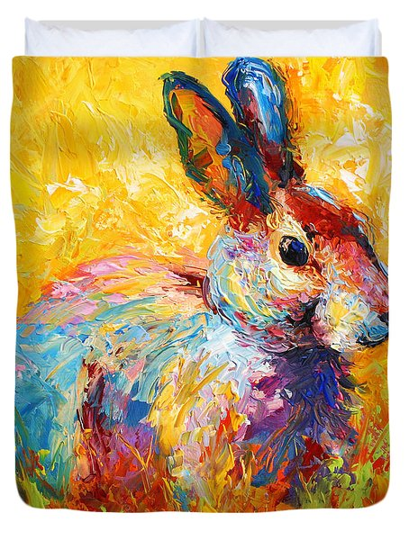 Forest Bunny Duvet Cover