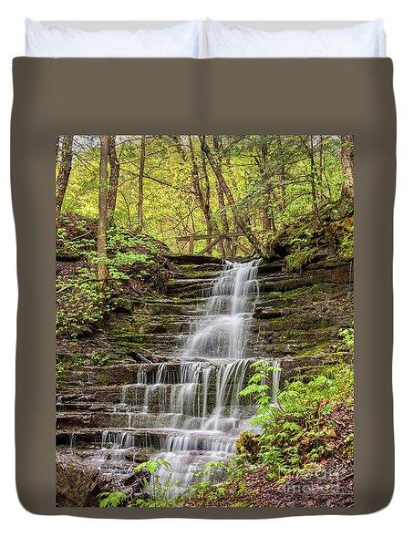 Forest Cascade Duvet Cover