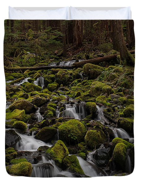 Forest Cathederal Duvet Cover