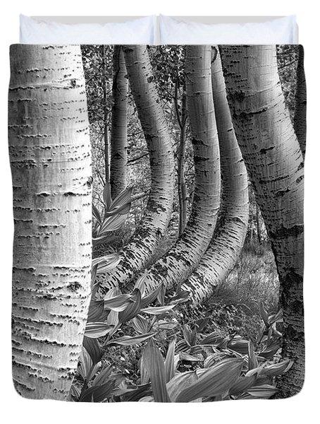 Forest Curves Duvet Cover
