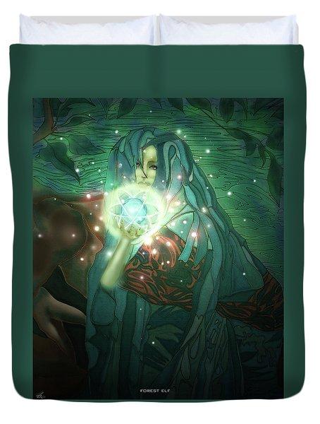Forest Elf Duvet Cover