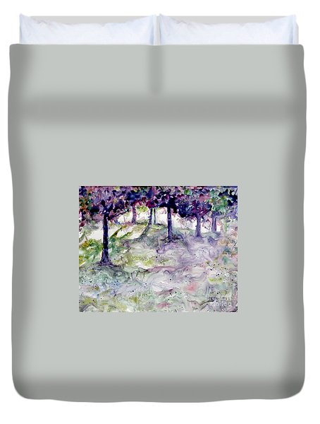 Forest Fantasy Duvet Cover