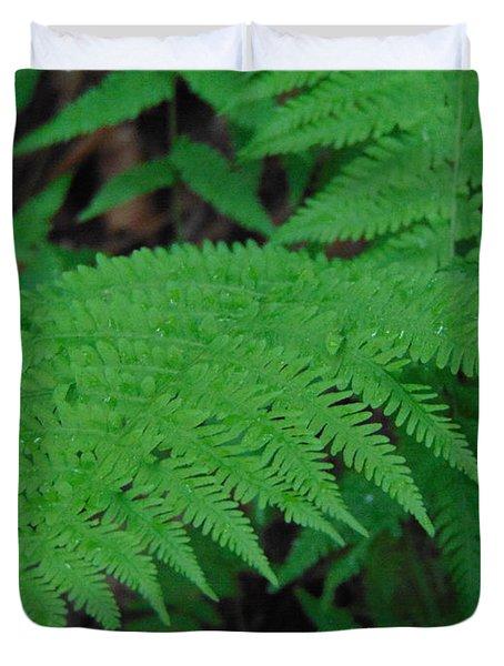 Forest Fern Duvet Cover