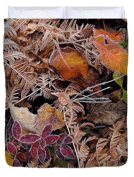 Forest Ferns Duvet Cover