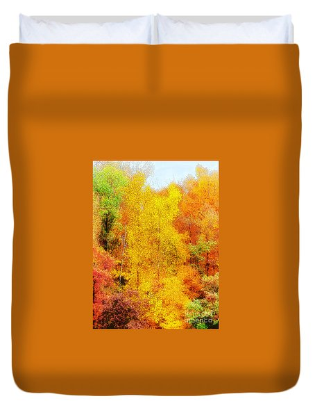 Forest Fire Duvet Cover by Craig Walters