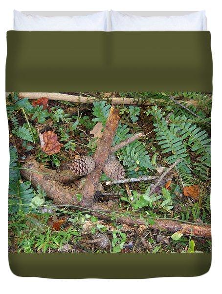 Forest Floor Duvet Cover