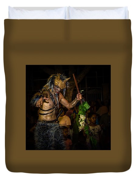 Forest Goblin Duvet Cover