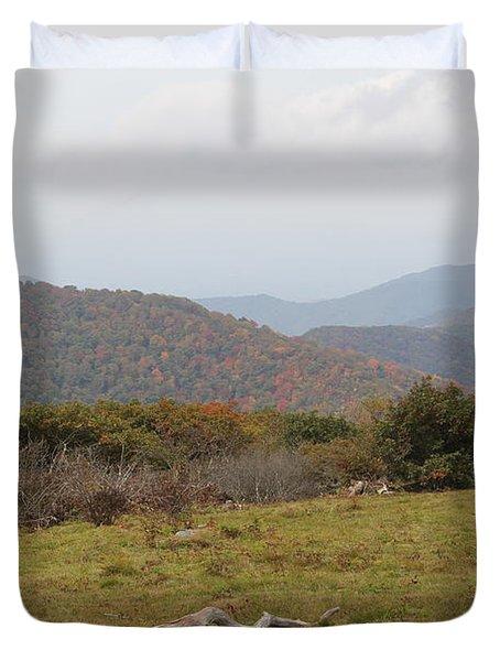Forest Highlands Duvet Cover