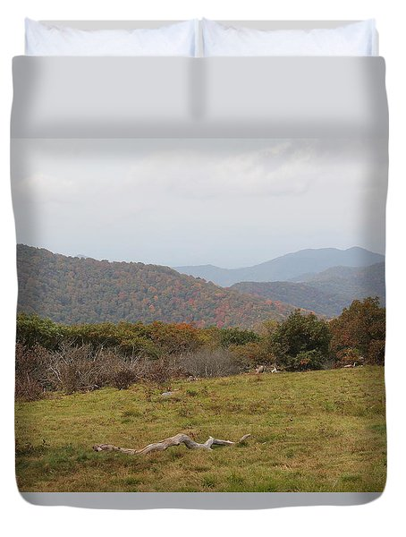 Forest Highlands Duvet Cover