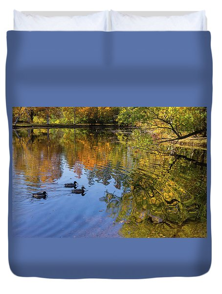 Forest Hill Reflections II Duvet Cover