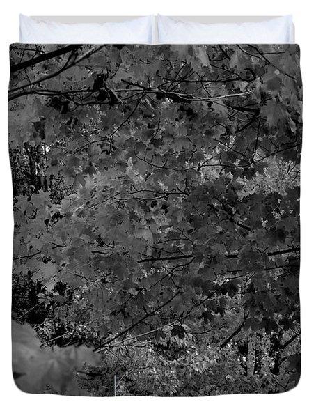 Forest Hut Duvet Cover