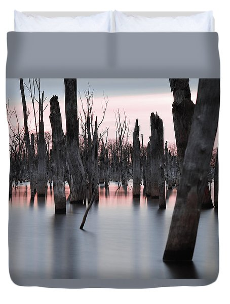 Forest In The Water Duvet Cover