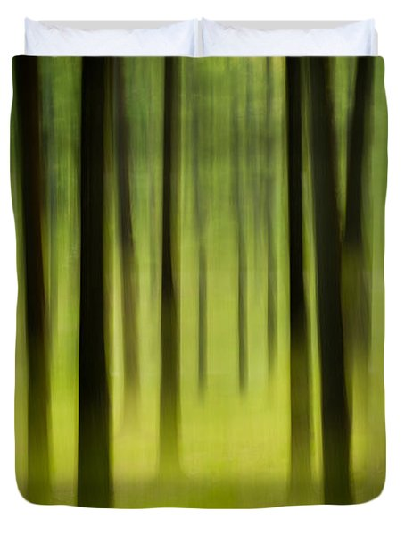 Duvet Cover featuring the photograph Forest by Joye Ardyn Durham