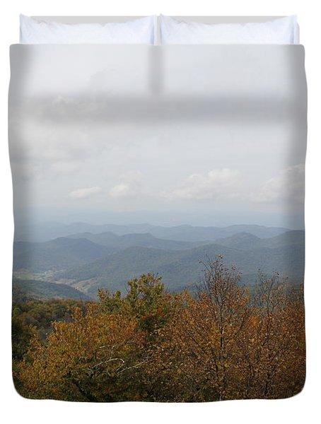 Forest Landscape View Duvet Cover