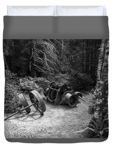 Forest Leftovers Duvet Cover