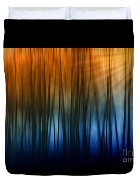 Forest Light Duvet Cover