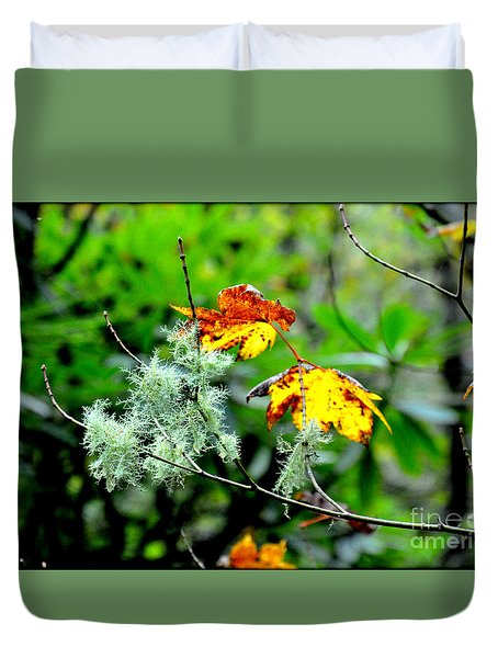 Duvet Cover featuring the photograph Forest Little Wonders by Tanya Searcy