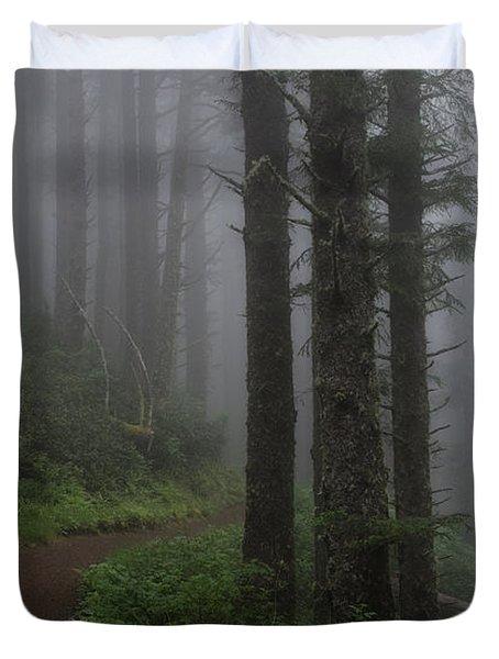 Forest Of Fog Duvet Cover