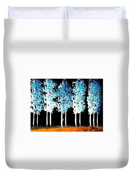 Forest Of Nightmares  Duvet Cover