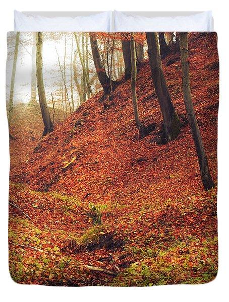 Forest Of November Duvet Cover