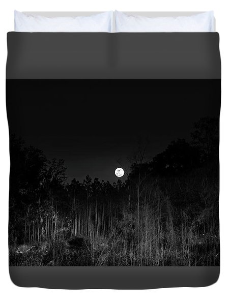 Forest Of The Wendigo Duvet Cover by Mark Andrew Thomas