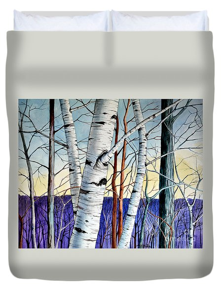 Forest Of Trees Duvet Cover