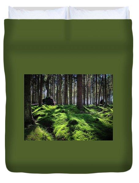 Forest Of Verdacy Duvet Cover