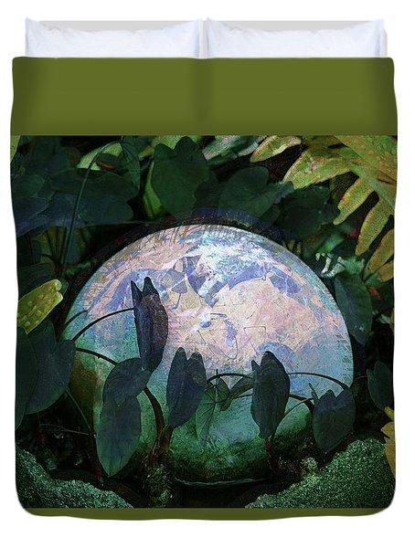 Forest Orb Duvet Cover