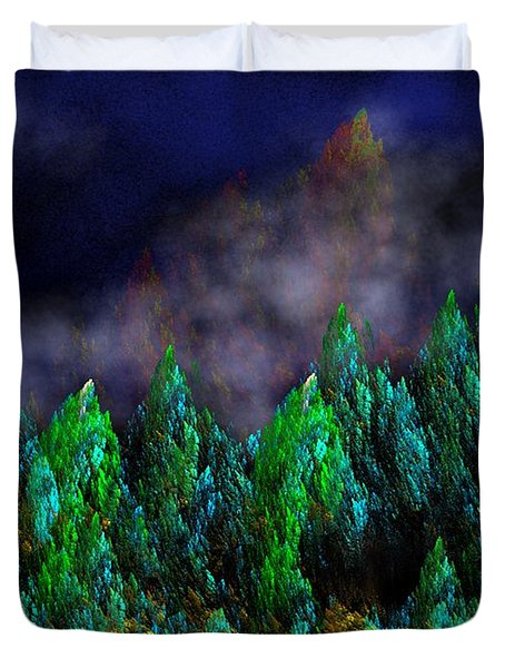 Forest Primeval Duvet Cover by David Lane