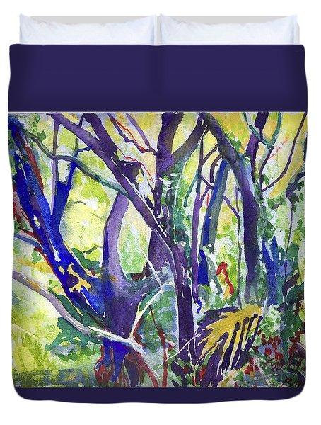 Forest Rainbow Duvet Cover