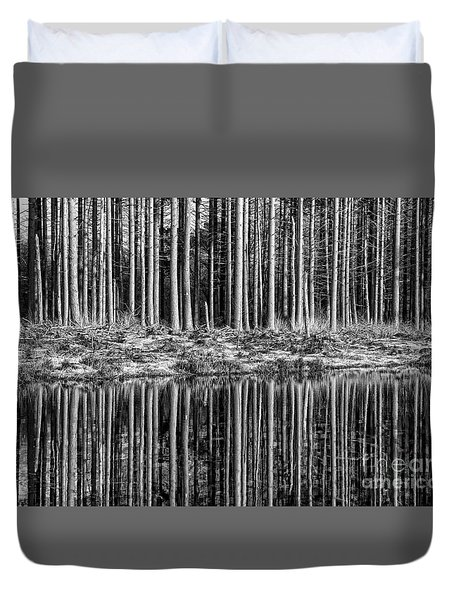 Forest Reflections Duvet Cover