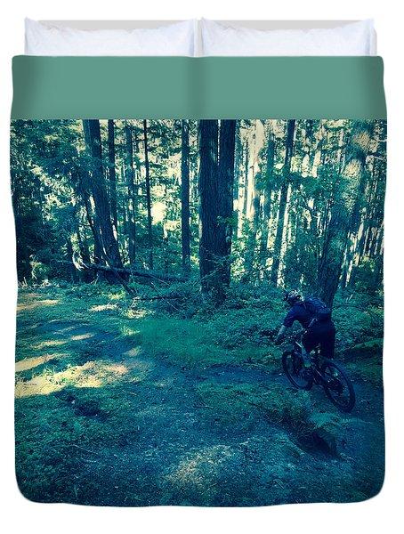 Forest Ride Duvet Cover